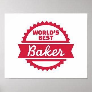El mejor panadero del mundo póster