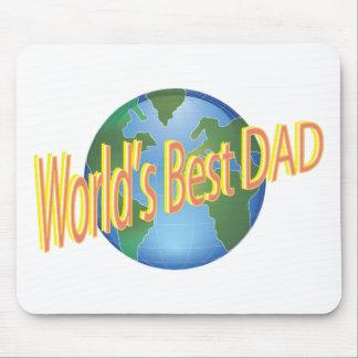 El mejor papá de los mundos alfombrilla de ratón