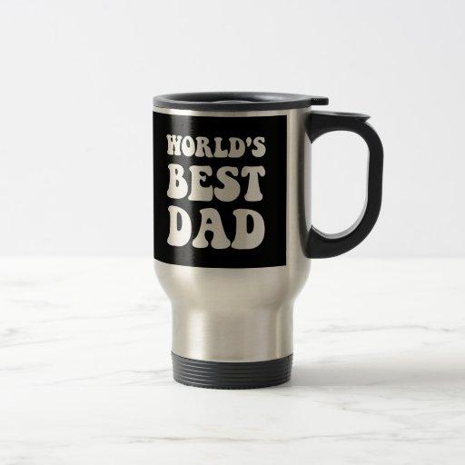 El mejor papá de los mundos tazas