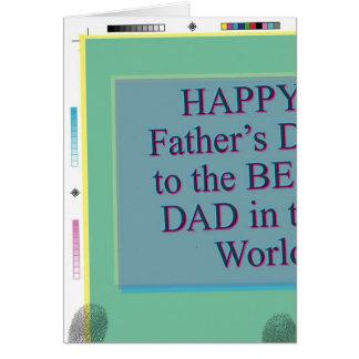 El mejor papá de padre de los mundos divertidos tarjeta de felicitación