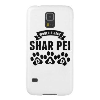 El mejor papá de Shar Pei del mundo Carcasas De Galaxy S5