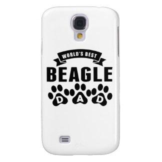 El mejor papá del beagle del mundo funda para galaxy s4