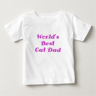 El mejor papá del gato de los mundos playeras