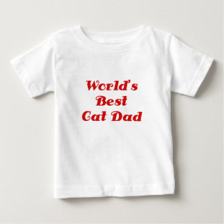 El mejor papá del gato de los mundos playera