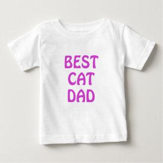 El mejor papá del gato playera