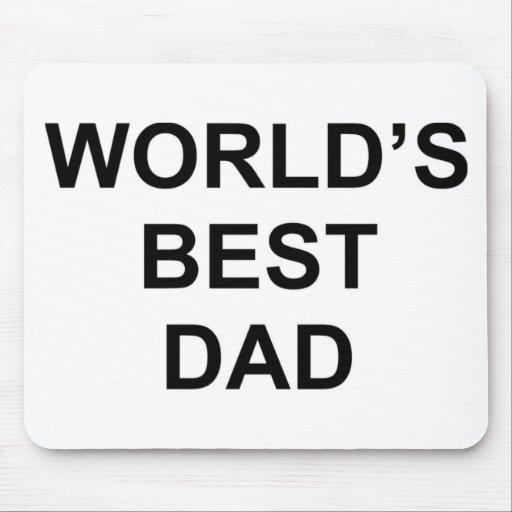 El mejor papá del mundo alfombrilla de ratones