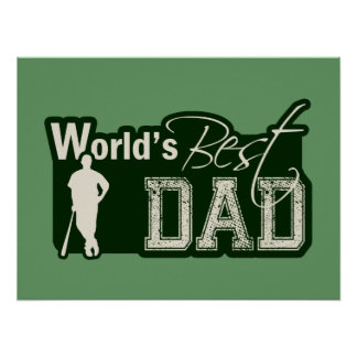 El mejor papá del mundo; Béisbol Póster