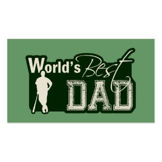 El mejor papá del mundo; Béisbol Tarjeta De Visita
