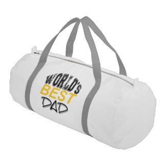 El mejor papá del mundo - bolso del gimnasio del bolsa de deporte