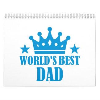 El mejor papá del mundo calendario