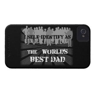 El mejor papá del mundo Case-Mate iPhone 4 fundas