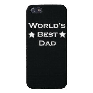El mejor papá del mundo iPhone 5 carcasa