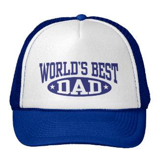 El mejor papá del mundo gorras de camionero