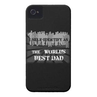 El mejor papá del mundo iPhone 4 Case-Mate funda