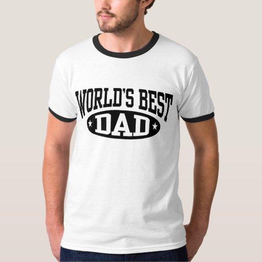 El mejor papá del mundo playeras