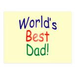 ¡El mejor papá del mundo! Postal