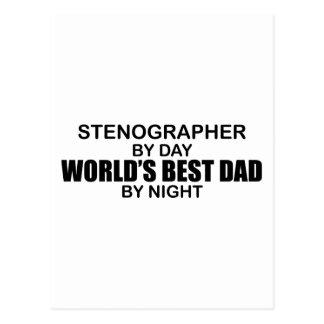 El mejor papá del mundo - taquígrafo postal