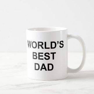 El mejor papá del mundo taza de café