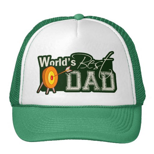 El mejor papá del mundo; Tiro al arco Gorras