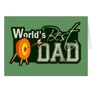 El mejor papá del mundo; Tiro al arco Tarjeton