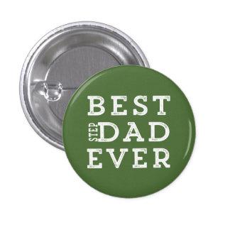 El mejor papá del paso nunca pin redondo de 1 pulgada