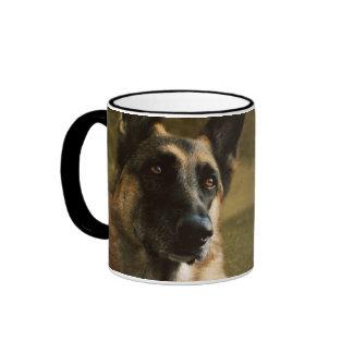 El mejor papá del pastor alemán del mundo taza de café