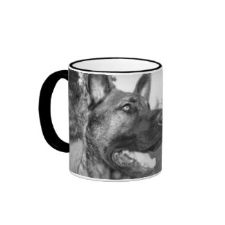 El mejor papá del pastor alemán del mundo tazas de café