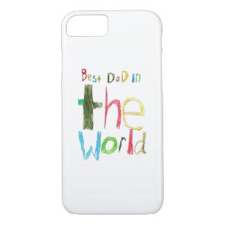 el mejor papá en el mundo funda iPhone 7