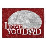 El mejor papá en la tarjeta de Customizeable del m