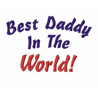 ¡El mejor papá en, mundo! - Camiseta bordada