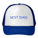 El mejor papá gorros bordados