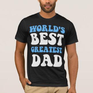 El mejor papá más grande del mundo playera
