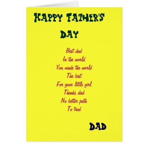El mejor papá n que el día de padre de los worls c tarjeta de felicitación