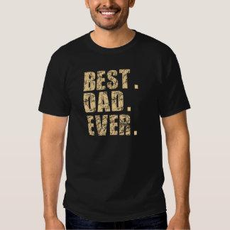 El mejor papá nunca (beige) remeras