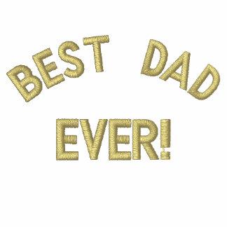 ¡El mejor papá, nunca! Camiseta Polo