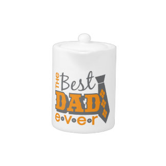 El mejor papá nunca con el lazo y los botones