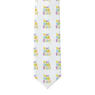 El mejor papá nunca corbata fina