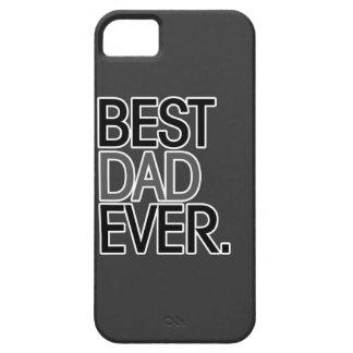 El mejor papá nunca iPhone 5 fundas