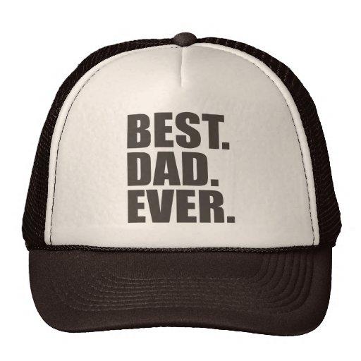El mejor. Papá. Nunca Gorra