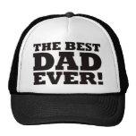 El mejor papá nunca gorras
