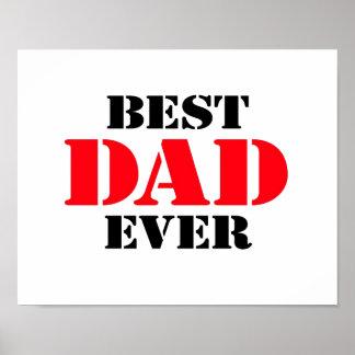 El mejor papá nunca posters