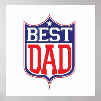 El mejor papá nunca impresiones