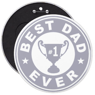 El mejor papá nunca pin