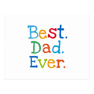 El mejor papá nunca postales