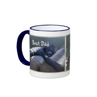 El mejor papá tazas de café