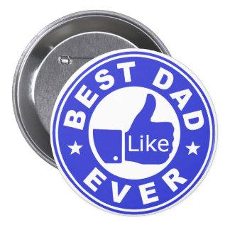 El mejor papá tiene gusto nunca - del azul pins