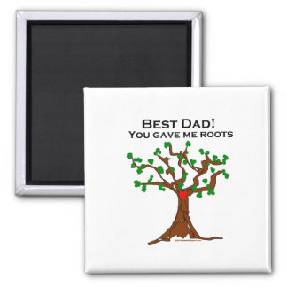El mejor papá usted me dio raíces imanes