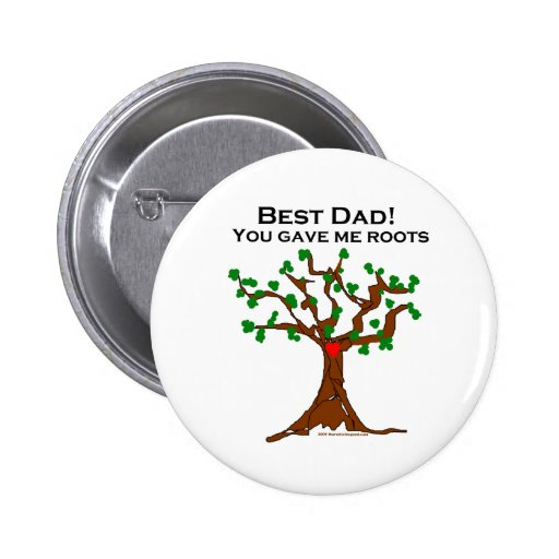 El mejor papá usted me dio raíces pin