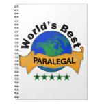 El mejor Paralegal del mundo Cuaderno