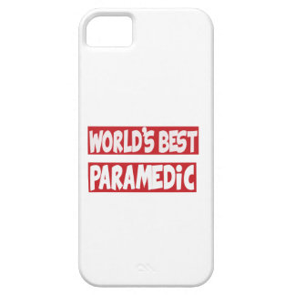 El mejor Paramedic. del mundo iPhone 5 Protector